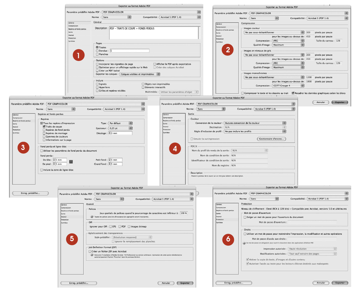 how to export paginated pdf indesign